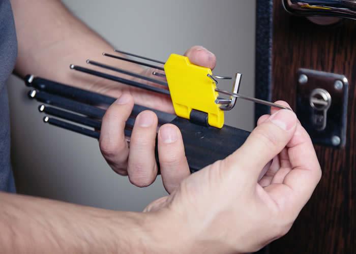 Chaveiro para manutenção de fechaduras